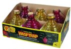 Premium Glass Wasp Trap - Kingfisher Pest Control (1 Supplied)
